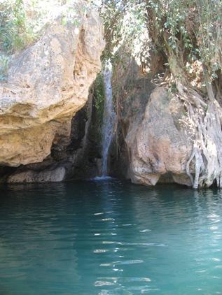 Cachoeira de agua quente!