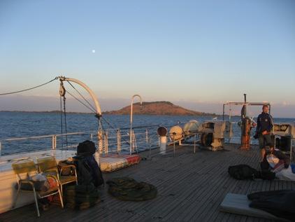 Lua Cheia no Deck