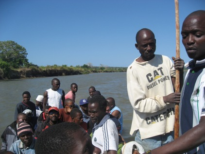 Barco na fronteira Moz x Tanzania