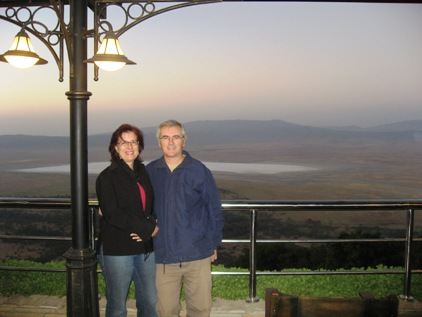 Mae e Clau no Ngorongoro
