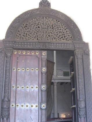 Porta talhada