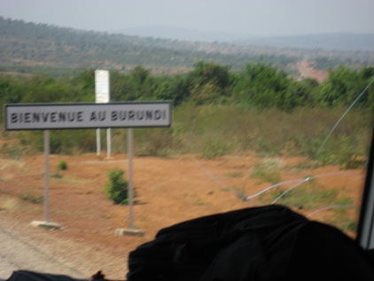 Bienvenue au Burundi!