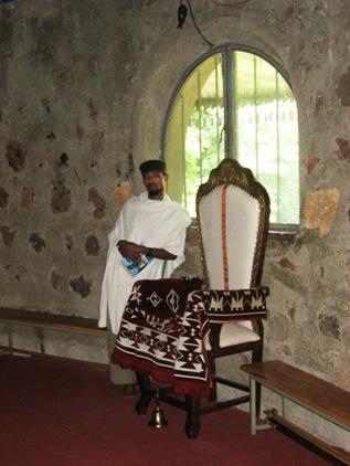 Dentro do monasterio