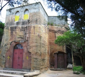 Igreja de pedra em Wukro
