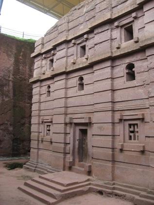 Igrejas de pedra de Lalibela