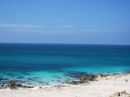 Nem vou colocar todas as praias, mas olha a agua.