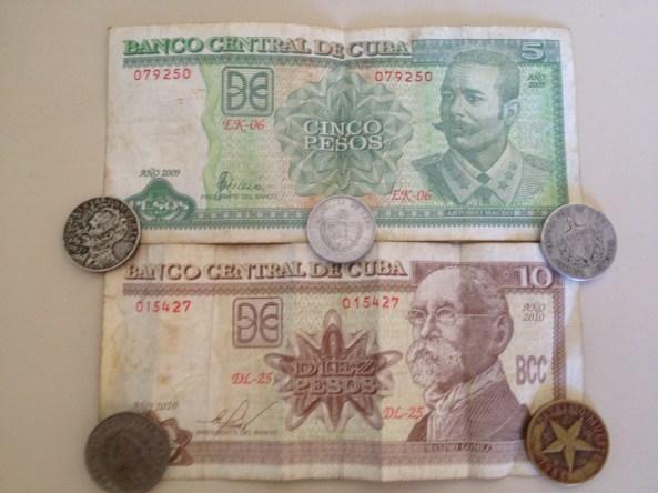 CUP, Peso Cubano, ou Moeda Nacional.