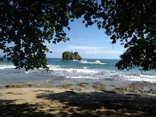 Canto da praia de Cocles