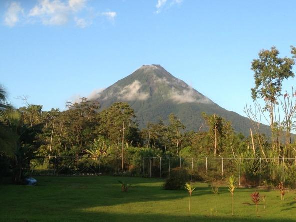 Vulcão Arenal visto de La Fortuna