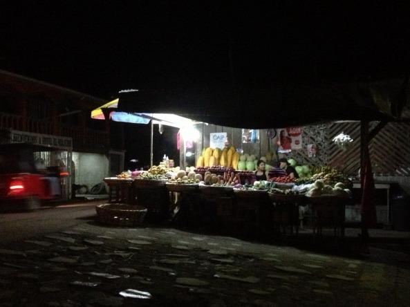 Rua escuras de El Rama