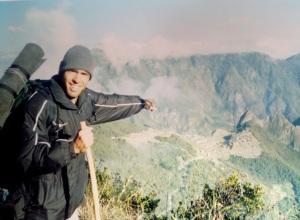 Primeiro contato com Machu Picchu