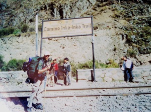 Início da Trilha Inca