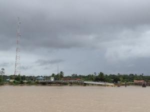Chegando no Suriname