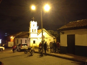 Chorro, Candelaria