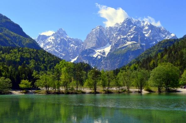 Lago em Kranjska Gora