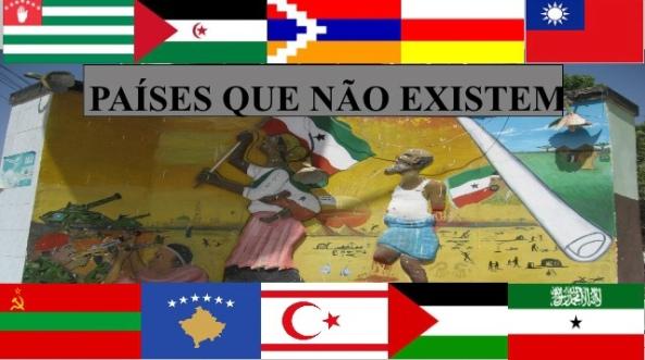 """Países """"De Facto""""independentes mas que ainda não tem o reconhecimento internacional"""