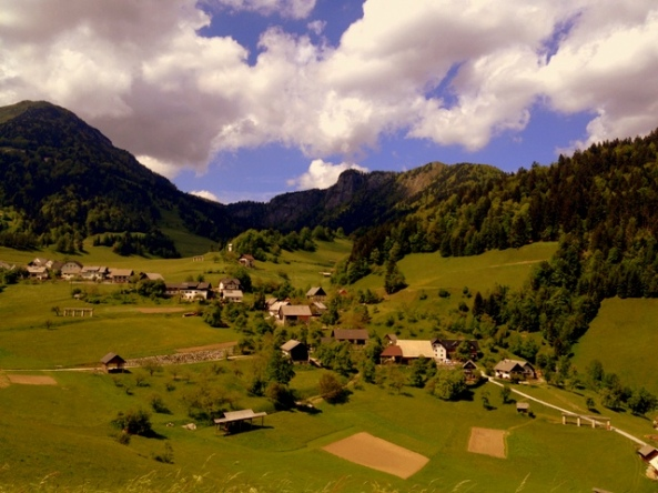 Interior da Eslovênia