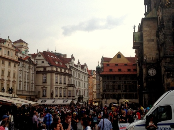 Primavera EM Praga - Invasão de turistas!