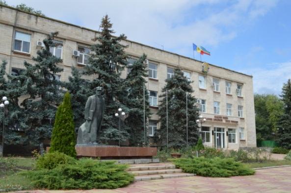 Governo, com bandeiras da Moldávia e Gaugázia
