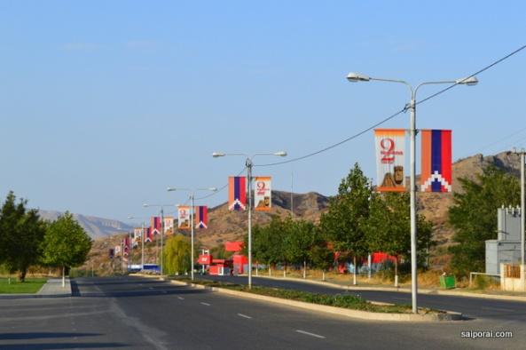 Chegada em Stepanakert