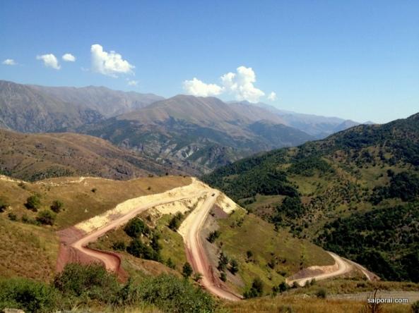 Nova estrada pelo Passe Sostk