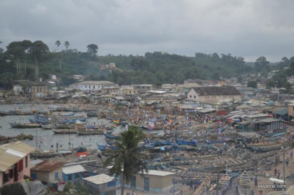 Vista panoramiza de Akwiida