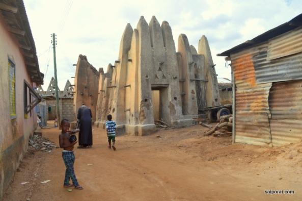 Antiga mesquita de Wa