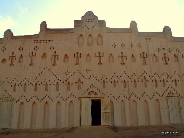Fachada da mesquita principal