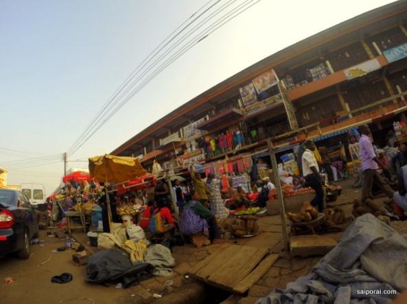 Arredores do mercado central