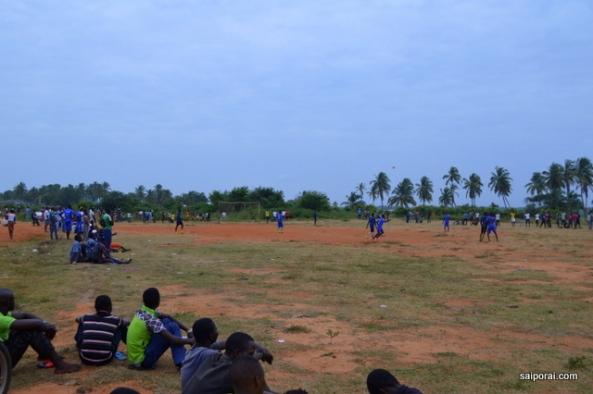 Futebol em um final de tarde