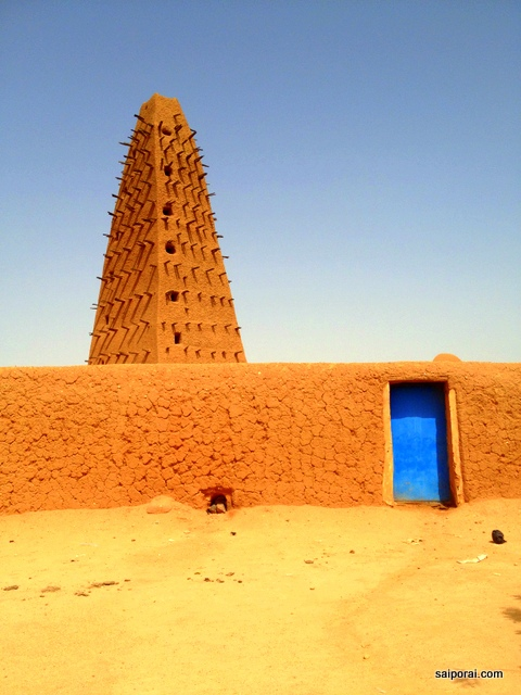 Mesquita de Agadez, cidade patrimônio da Unesco