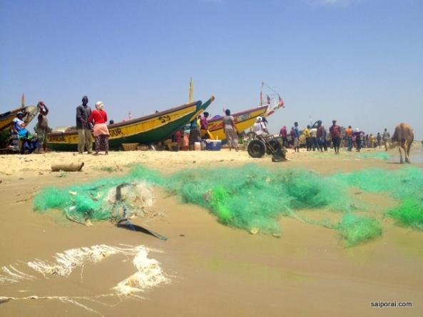 Onde tem pescadores tem comida fresca