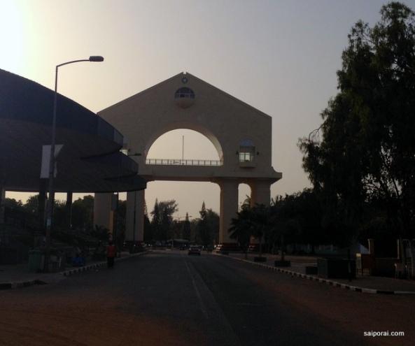 Arco 22 no final de tarde