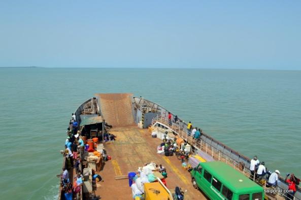 A caminho do Arquipélago dos Bijagós