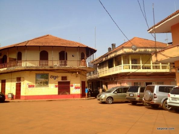 Entrada de Bissau Velha