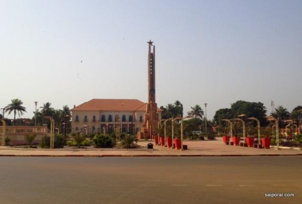 Palácio presidencial de Bissau