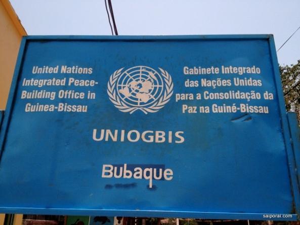 Presença da ONU e ONGs