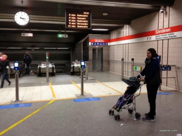 Não existem catracas no metro